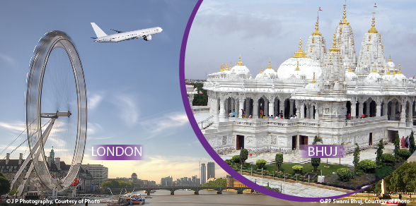 Flights London to Bhuj